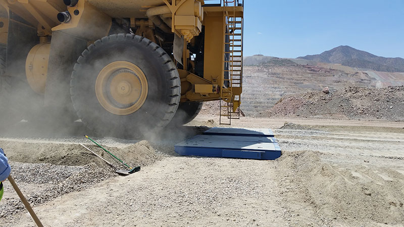 FORCE Mining Haul Truck Scales
