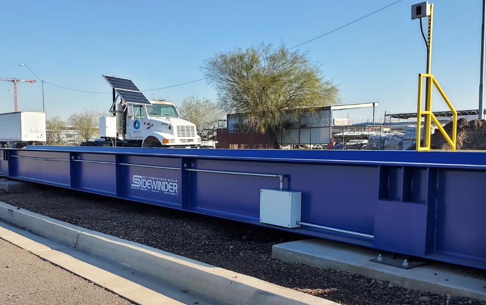 Sidewinder Truck Scale